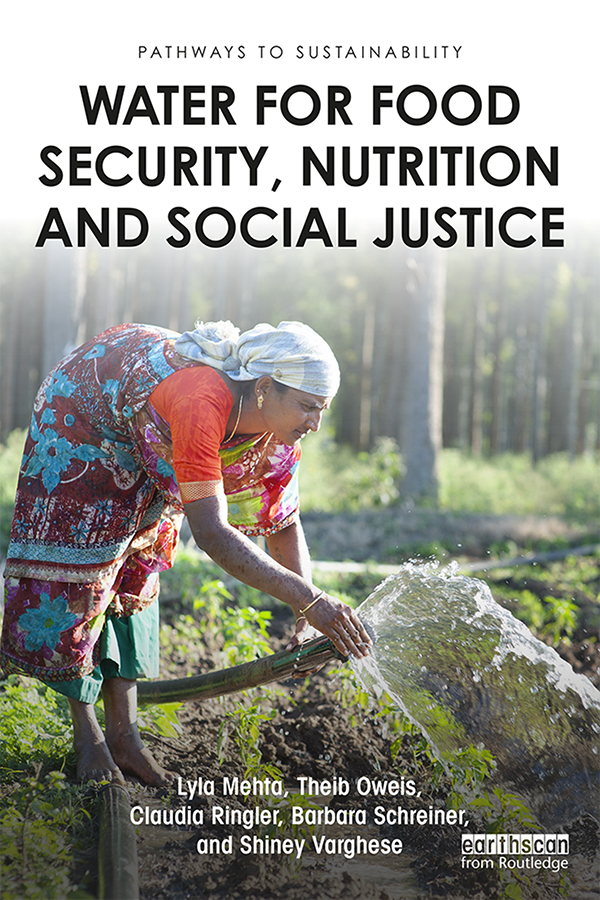 Water for Food Security, Nutrition and Social Justice book cover