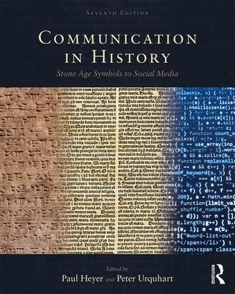 Communication in History: Stone Age Symbols to Social Media book cover