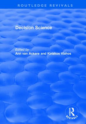 Decision Science: 1st Edition (Hardback) book cover