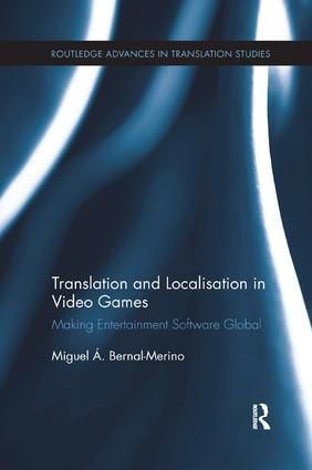 Translation and Localisation in Video Games (Paperback) book cover