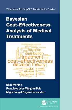 Bayesian Cost-Effectiveness Analysis of Medical Treatments: 1st Edition (Hardback) book cover
