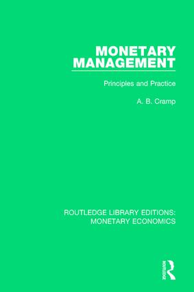 Monetary Management: Principles and Practice book cover