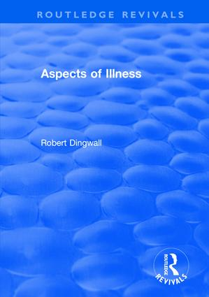 Aspects of Illness: 1st Edition (Hardback) book cover