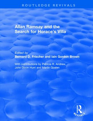 Allan Ramsay and the Search for Horace's Villa: 1st Edition (Hardback) book cover