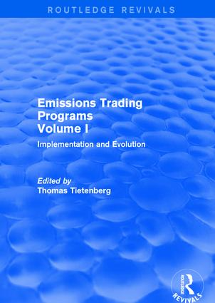 Emissions Trading Programs: Volume I: Implementation and Evolution Volume II: Theory and Design book cover