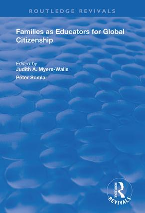 Families as Educators for Global Citizenship: 1st Edition (Hardback) book cover