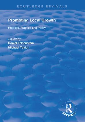 Promoting Local Growth: Process, Practice and Policy, 1st Edition (Hardback) book cover