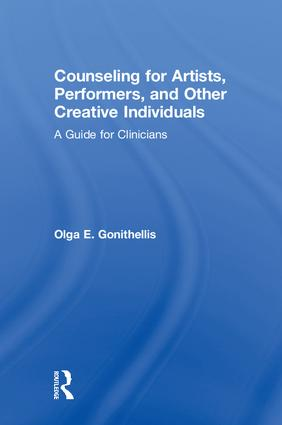 Counseling for Artists, Performers, and Other Creative Individuals: A Guide For Clinicians, 1st Edition (Hardback) book cover