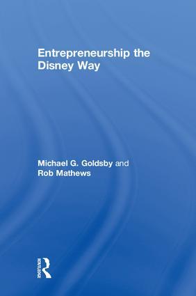 Entrepreneurship the Disney Way book cover