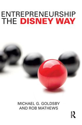 Entrepreneurship the Disney Way: 1st Edition (Paperback) book cover