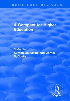 A Compact for Higher Education: 1st Edition (Hardback) book cover