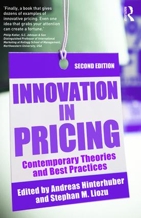 Innovation in Pricing: Contemporary Theories and Best Practices book cover