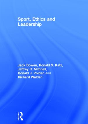 Sport, Ethics and Leadership book cover