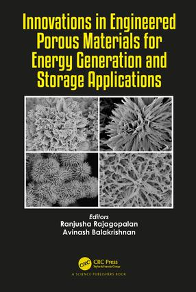 Innovations in Engineered Porous Materials for Energy Generation and Storage Applications: 1st Edition (Hardback) book cover