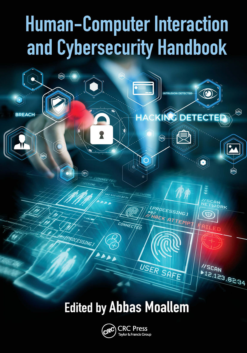 Human-Computer Interaction and Cybersecurity Handbook book cover