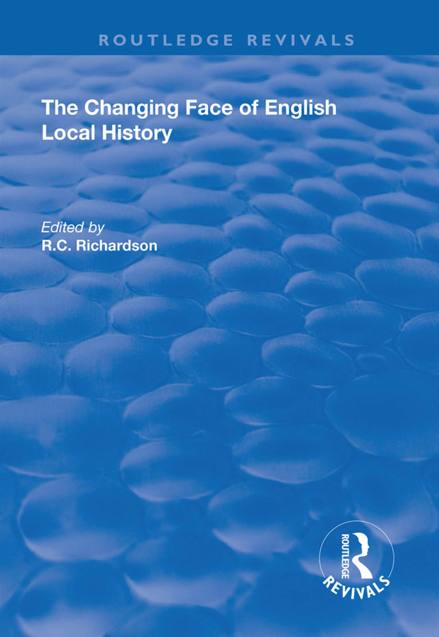 The Changing Face of English Local History