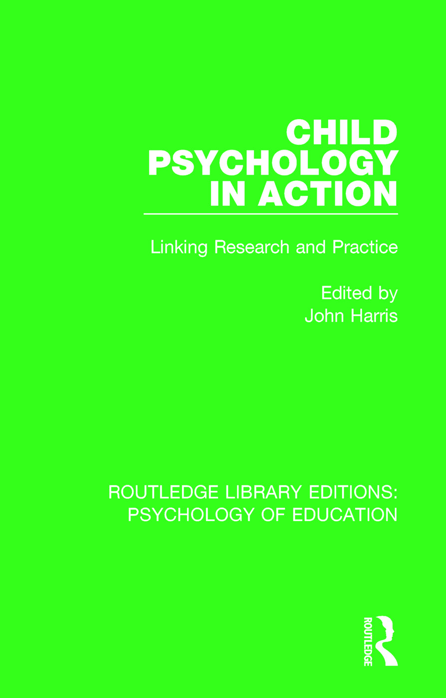 Child Psychology in Action: Linking Research and Practice, 1st Edition (Paperback) book cover