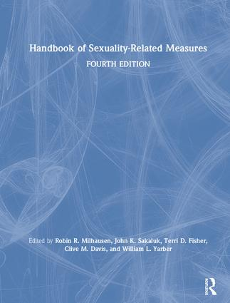 Handbook of Sexuality-Related Measures book cover