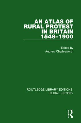 An Atlas of Rural Protest in Britain 1548-1900: 1st Edition (Paperback) book cover