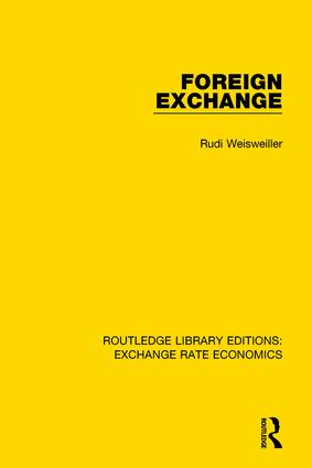 Foreign Exchange: 1st Edition (Paperback) book cover