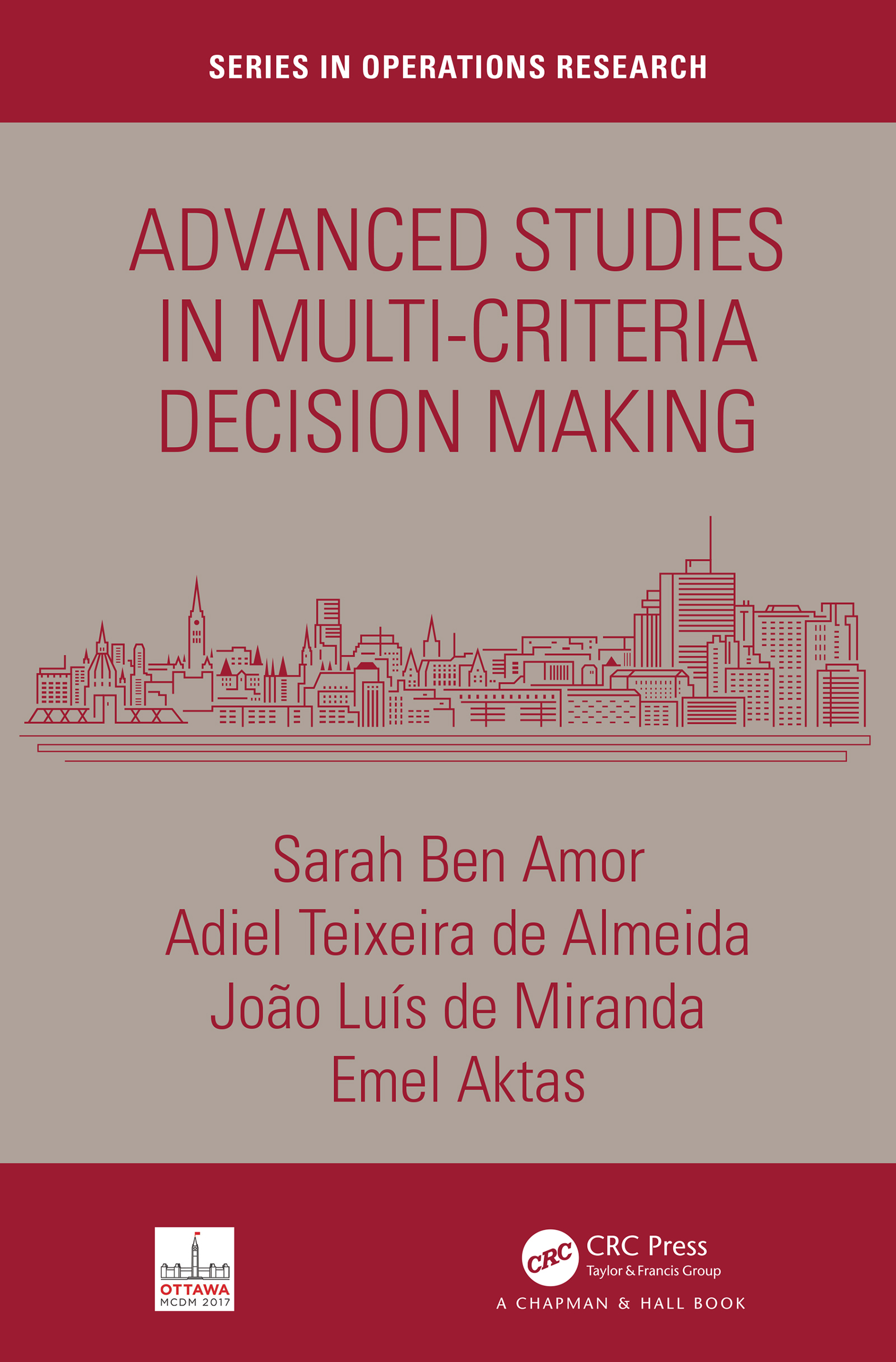 Advanced Studies in Multi-Criteria Decision Making: 1st Edition (Hardback) book cover