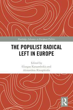 The Populist Radical Left in Europe: 1st Edition (Hardback) book cover