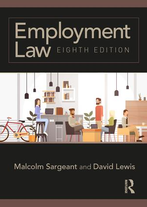 Employment Law: Eighth edition book cover