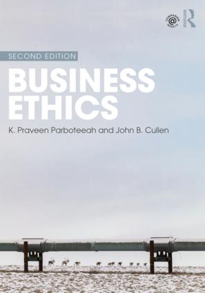 Business Ethics book cover