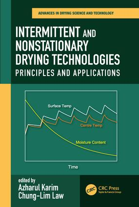 Intermittent and Nonstationary Drying Technologies: Principles and Applications, 1st Edition (Paperback) book cover