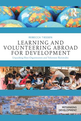 Learning and Volunteering Abroad for Development: Host Organization and Volunteer Perspectives book cover