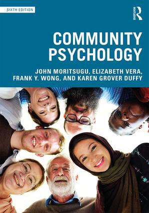 Community Psychology: 6th Edition (Paperback) book cover