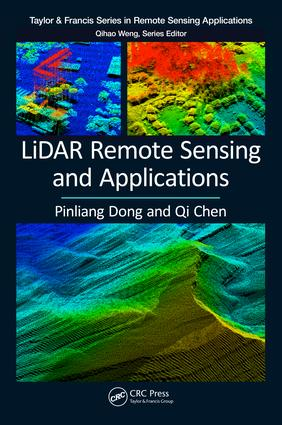LiDAR Remote Sensing and Applications: 1st Edition (Paperback) book cover