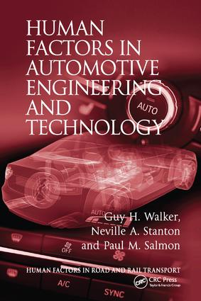 Human Factors in Automotive Engineering and Technology book cover