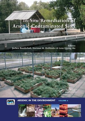 In-Situ Remediation of Arsenic-Contaminated Sites: 1st Edition (Paperback) book cover