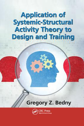 Application of Systemic-Structural Activity Theory to Design and Training: 1st Edition (Paperback) book cover