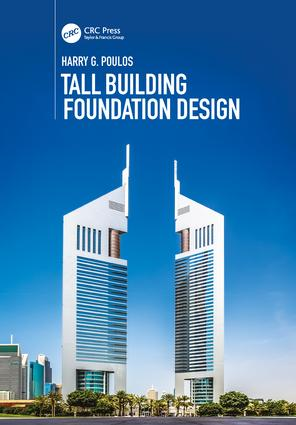 Tall Building Foundation Design: 1st Edition (Paperback) book cover