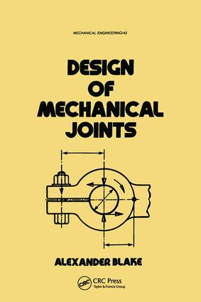 Design of Mechanical Joints book cover