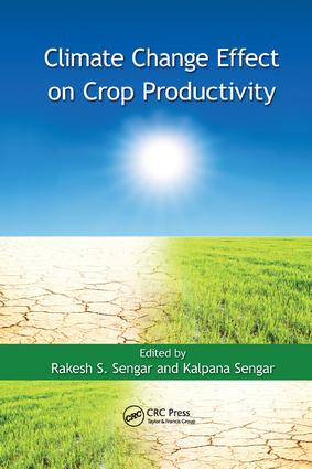 Climate Change Effect on Crop Productivity: 1st Edition (Paperback) book cover