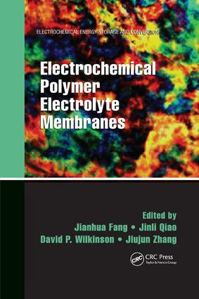 Electrochemical Polymer Electrolyte Membranes book cover