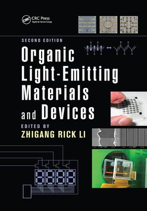 Organic Light-Emitting Materials and Devices: 2nd Edition (Paperback) book cover