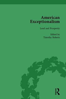 American Exceptionalism Vol 1 book cover