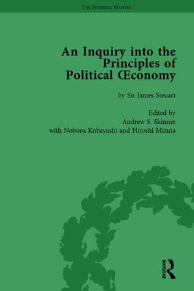 An Inquiry into the Principles of Political Oeconomy Volume 1: A Variorum Edition, 1st Edition (Hardback) book cover