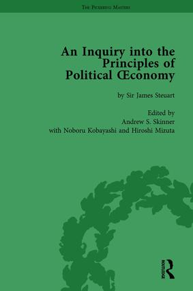 An Inquiry into the Principles of Political Oeconomy Volume 2: A Variorum Edition, 1st Edition (Hardback) book cover