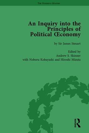 An Inquiry into the Principles of Political Oeconomy Volume 4: A Variorum Edition, 1st Edition (Hardback) book cover