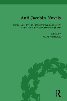 Anti-Jacobin Novels, Part I, Volume 1: 1st Edition (Paperback) book cover