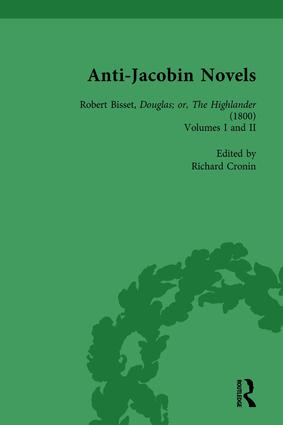 Anti-Jacobin Novels, Part I, Volume 4 book cover