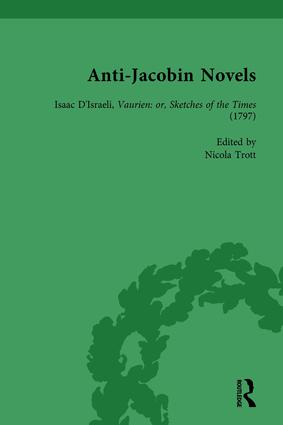 Anti-Jacobin Novels, Part II, Volume 8 book cover