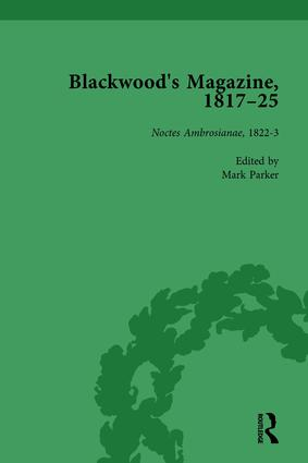 Blackwood's Magazine, 1817-25, Volume 3: Selections from Maga's Infancy, 1st Edition (Hardback) book cover