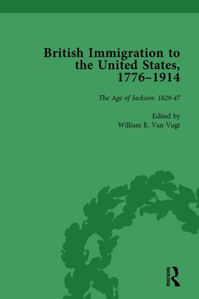 British Immigration to the United States, 1776–1914, Volume 2 book cover