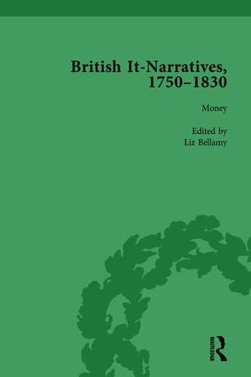 British It-Narratives, 1750–1830, Volume 1: 1st Edition (Hardback) book cover